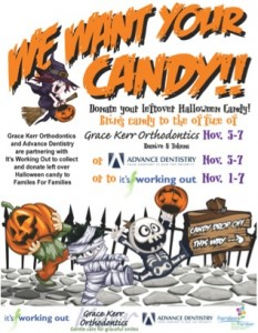 Halloween Candy Drive Advance Dentistry